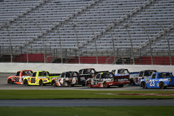 Grant Enfinger, ThorSport Racing Toyota and Matt Crafton, ThorSport Racing Toyota