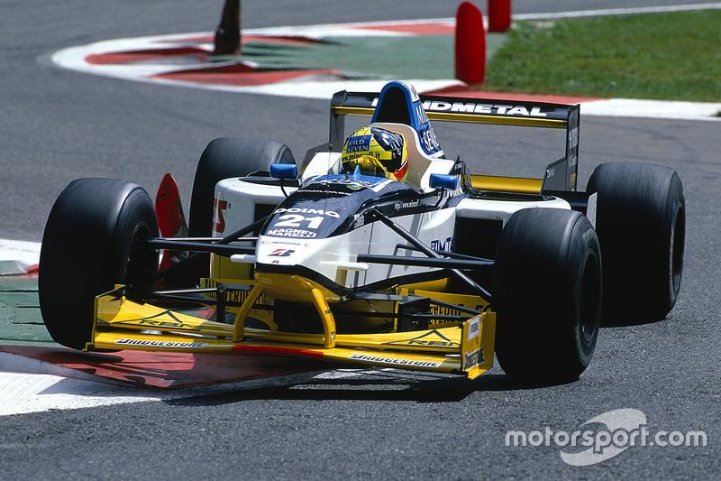 #21: Tarso Marques, Minardi, M197