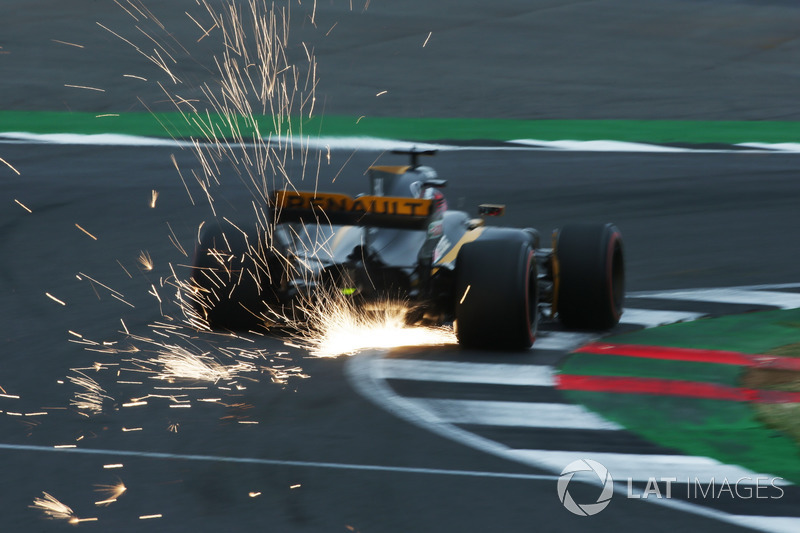 Ніко Хюлькенберг, Renault Sport F1 Team RS17, іскри