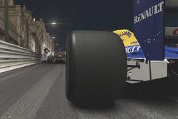 Une Williams classique à Monaco de nuit