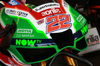 Sam Lowes, Aprilia Racing Team Gresini, Verkleidung, Detail