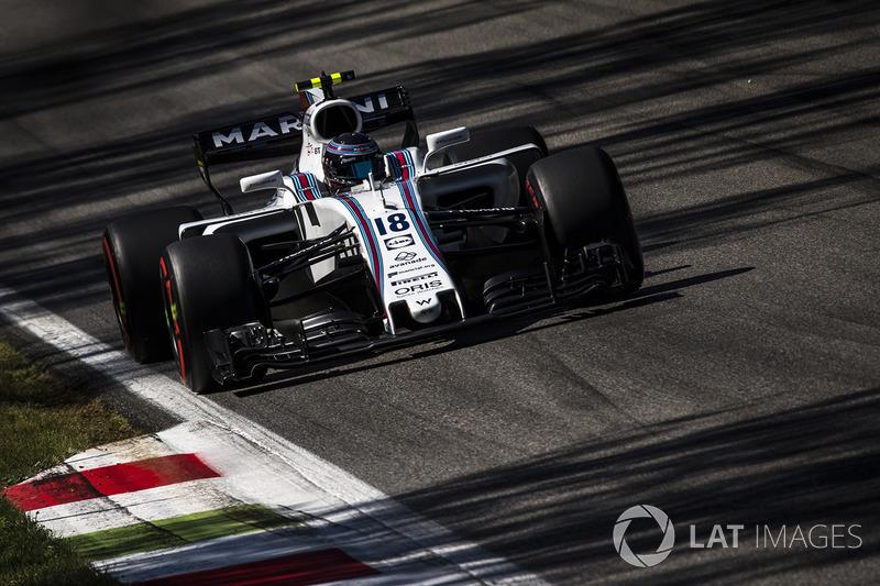 Passada a tensão, deu tudo certo para a Williams. Stroll cruzou em sétimo, com Massa em oitavo.