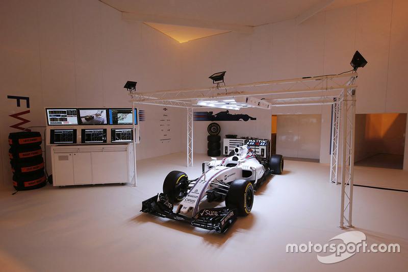 El stand de Williams Martini Racing