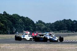 Nelson Piquet, Brabham BT49; Alan Jones, Williams FW07
