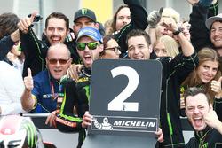 Second place Jonas Folger, Monster Yamaha Tech 3