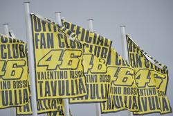 Valentino Rossi, Yamaha Factory Racing banderas del fan club