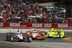 Еліо Кастроневес, Team Penske Chevrolet, Джозеф Ньюгарден, Team Penske Chevrolet, Сімон Пажно, Team Penske Chevrolet