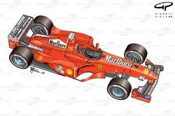 Ferrari F399 (650) 1999 overview