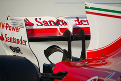 Ferrari SF70H rear wing and monkey seat detail