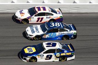 3-Wide-Racing in Daytona mit Chevrolet, Ford und Toyota