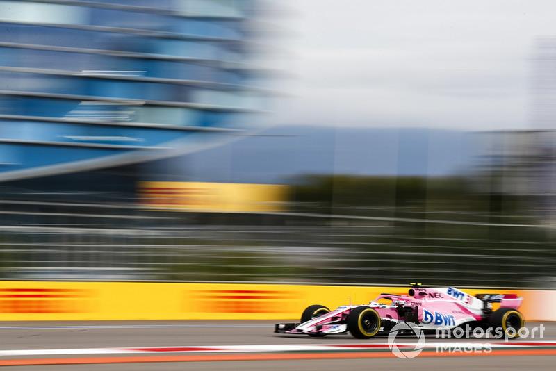 Естебан Окон, Racing Point Force India VJM11
