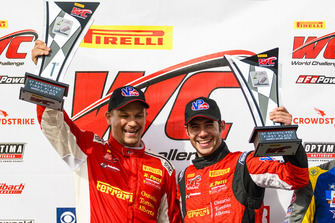 Toni Vilander e Miguel Molina, sul podio