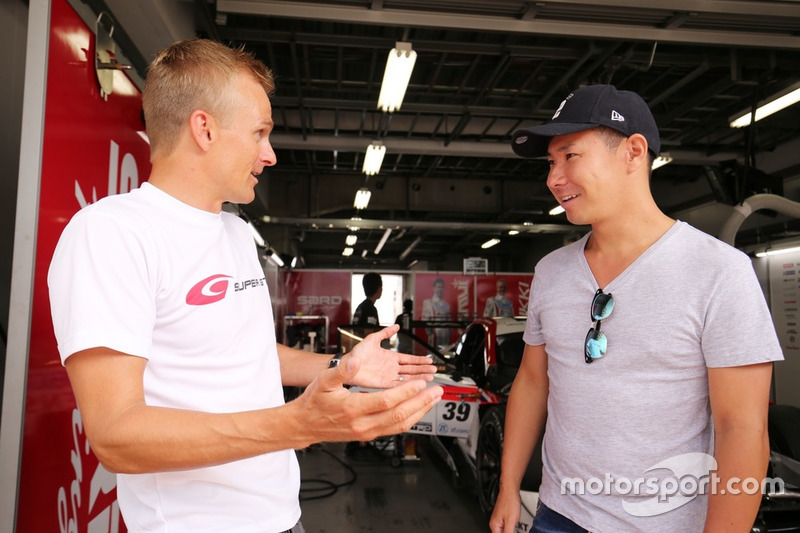 Heikki Kovalainen, Kamui Kobayashi(#39 DENSO KOBELCO SARD LC500)