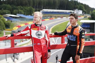 Nikita Mazepin, ART Grand Prix et Dorian Boccolacci, MP Motorsport