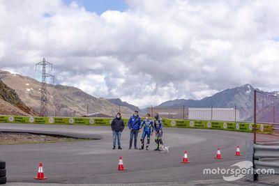 Sesión de entrenamiento Circuito Andorra