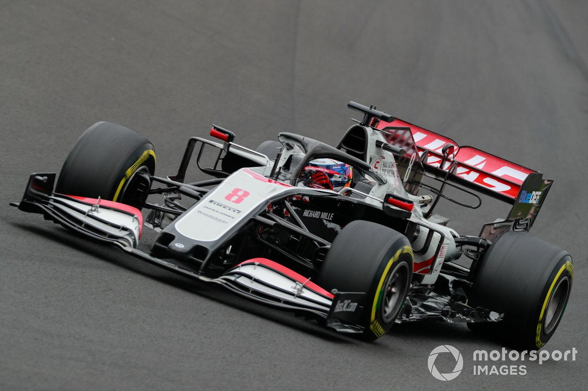 P18 Romain Grosjean, Haas VF-20