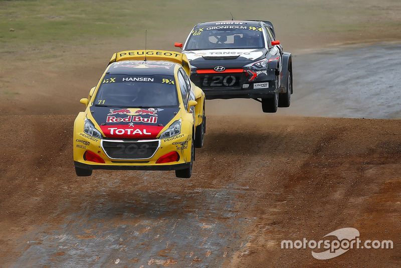 Kevin Hansen, Team Peugeot Total, Niclas Gronholm, GRX Taneco
