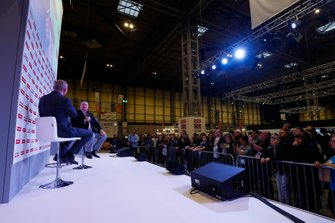 Zak Brown talks to Stuart Codling on the Autosport Stage