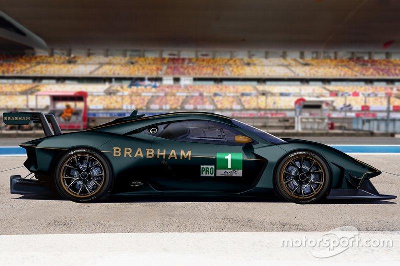 Brabham Automotive GTE rendering