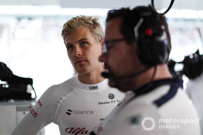 Marcus Ericsson, Sauber.
