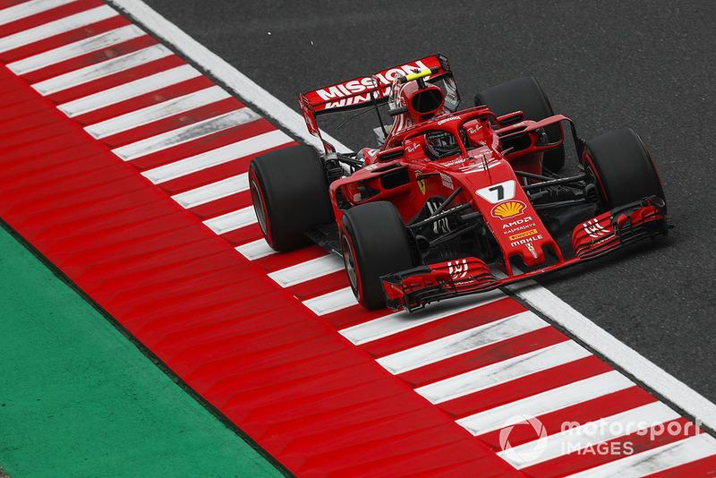 4: Kimi Raikkonen, Ferrari SF71H, 1'29.521