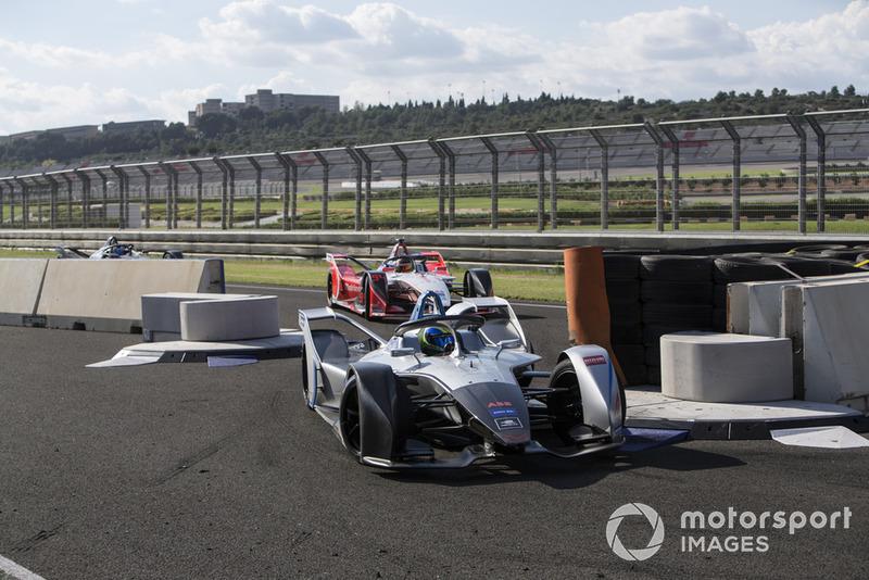 Felipe Massa, Venturi y Pascal Wehrlein, Mahindra Racing, M5 Electro