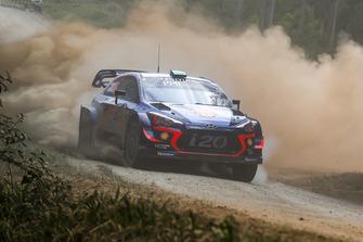 Хейден Паддон, Себастьян Маршалл, Hyundai Motorsport Hyundai i20 Coupe WRC