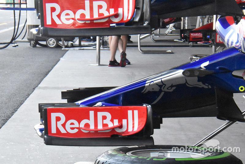 Aileron avant de la Toro Rosso STR13