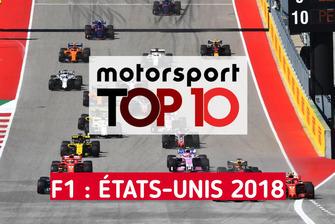 Top 10 F1 : États-Unis