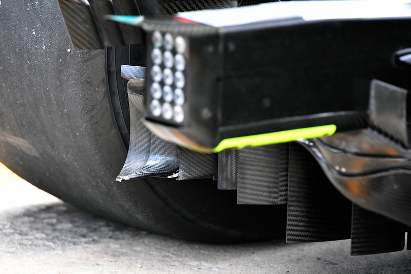 Mercedes-AMG F1 W09 rear detail