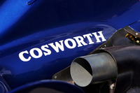 Cosworth logo on the Williams FW28