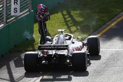 Сход: Ромен Грожан, Haas F1 Team VF-18