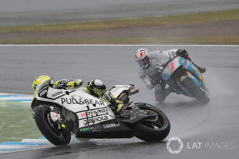 Alvaro Bautista, Aspar Racing Team, caída