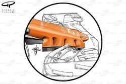 McLaren MCL32, nariz