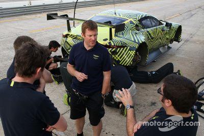 Aston Martin Racing Sebring test