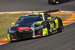 #17 Belgian Audi Club Team WRT Audi R8 LMS: Stuart Leonard, Marcel Fässler, Daniel Serra