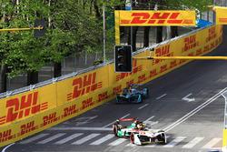 Даниэль Абт, Audi Sport ABT Schaeffler, и Том Бломквист, Andretti Formula E Team
