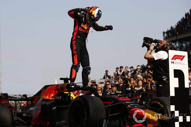 Il vincitore della garaDaniel Ricciardo, Red Bull Racing