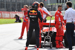 Race winner Max Verstappen, Red Bull Racing in parc ferme