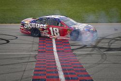 1. Kyle Busch, Joe Gibbs Racing, Toyota Camry Skittles Red White & Blue
