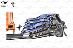 McLaren MCL33 front wing, Spanish GP