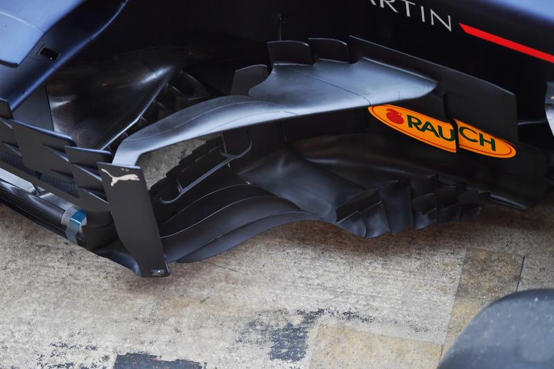 Область дефлекторов Red Bull RB14