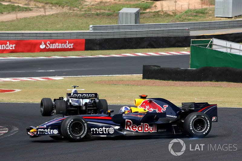 David Coulthard, Red Bull Racing RB3 trompo