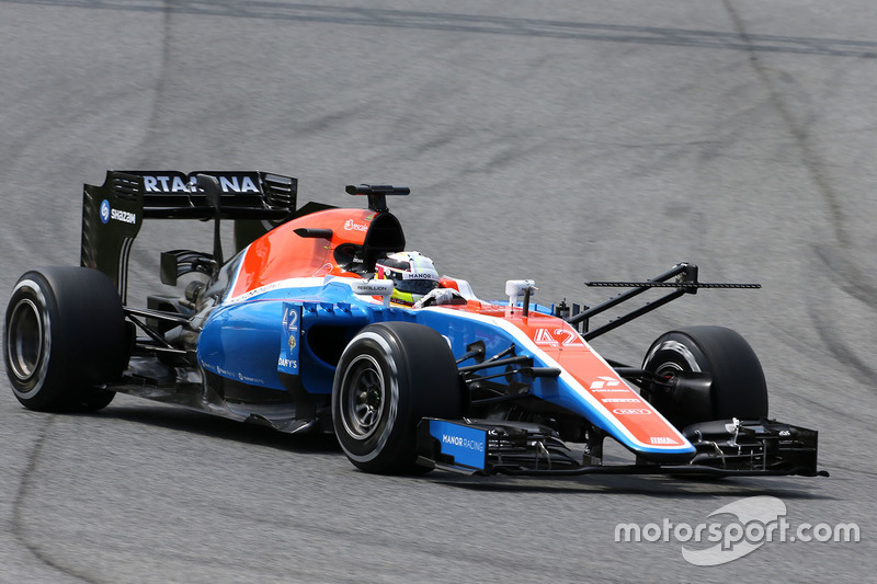 Jordan King, Manor Racing MRT05