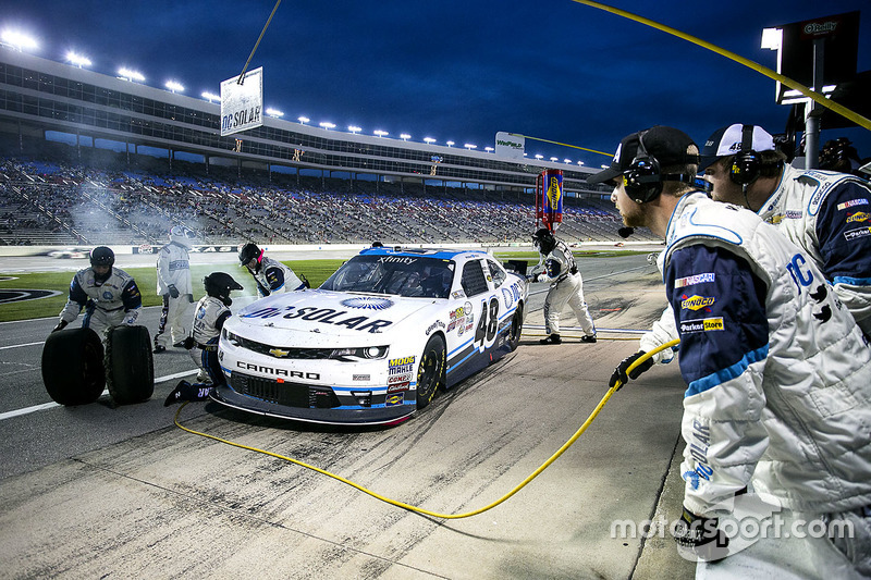 Pit stop, Brennan Poole, Chip Ganassi Racing Chevrolet