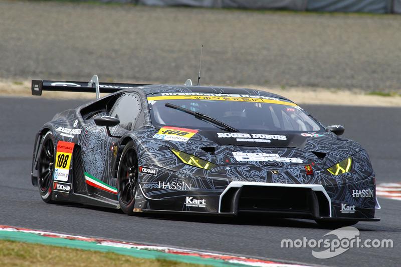 #108 Lamborghini Team Direction Shift Lamborghini Huracan: Kyosuke Mineo, Kei Cozzolino
