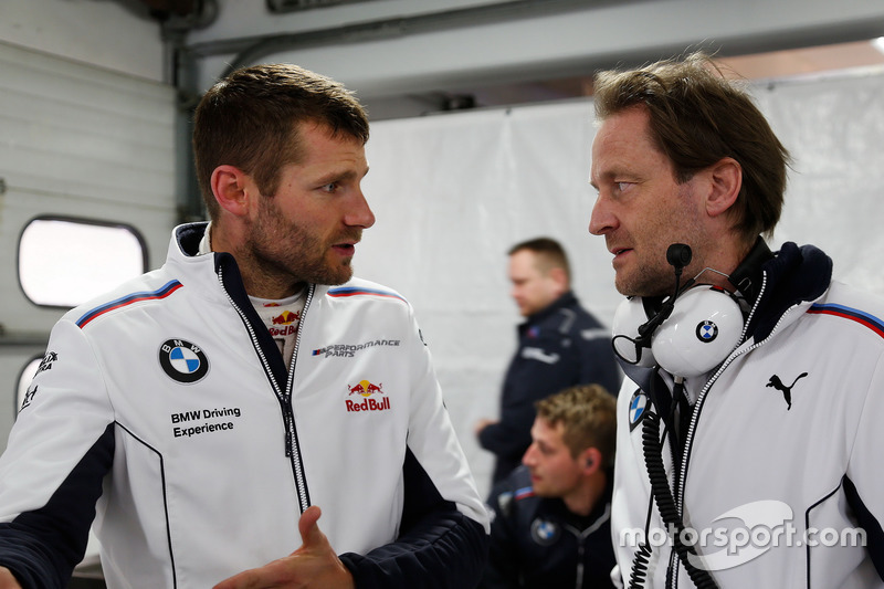 Martin Tomczyk, BMW Team Schnitzer, BMW M4 DTM and Engineer Michael Koelbl