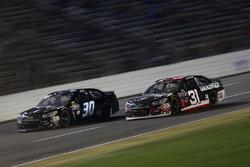 Ryan Newman, Richard Childress Racing Chevrolet, Josh Wise, The Motorsports Group Chevrolet
