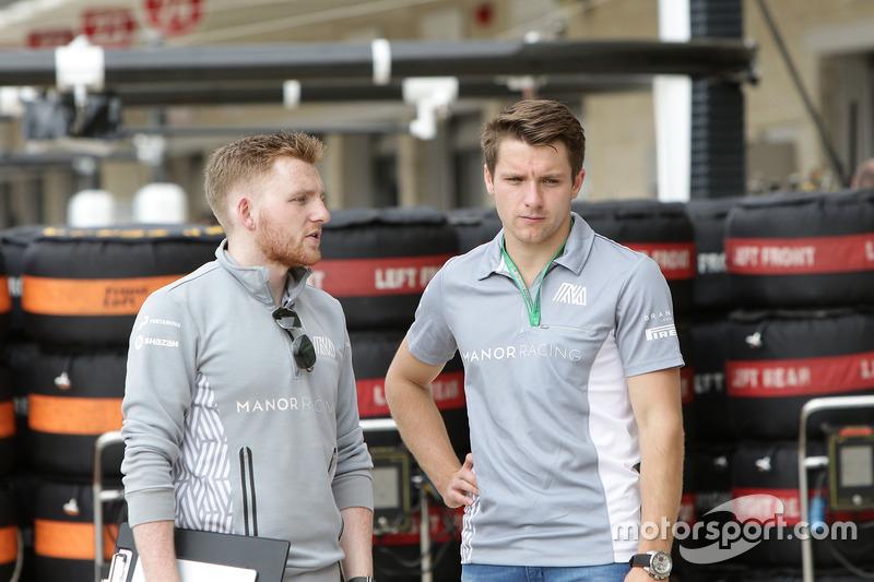 Jordan King, Manor Racing Development Driver