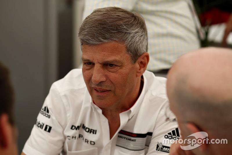 Fritz Enzinger, Director LMP1 Porsche Team
